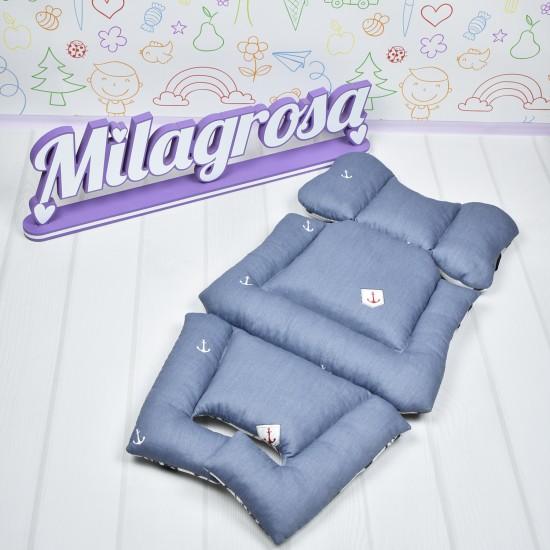 Премиум 3D матрасик-вкладыш Якоря + принт 3D-сетка - Milagrosa Premium