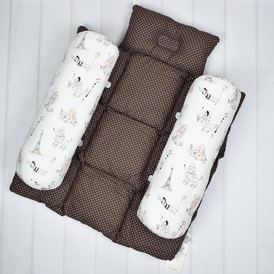 Ограничитель для сна новорожденного Шоколад