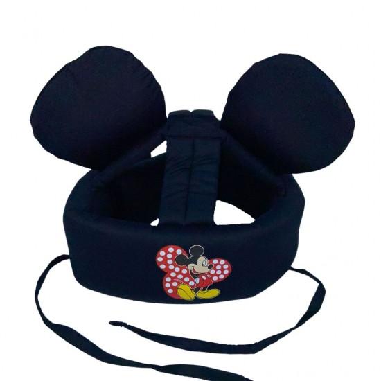"""Детский защитный противоударный мягкий шлем от ударов  """"Микки"""""""