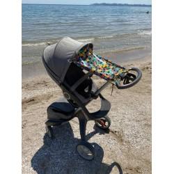 "Солнцезащитная шторка на коляску и авто-кресло ""Shark"""