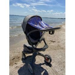 "Солнцезащитная шторка на коляску и авто-кресло ""Marine"""