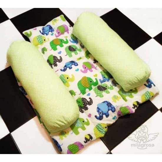 Ограничитель для сна новорожденного Слоники