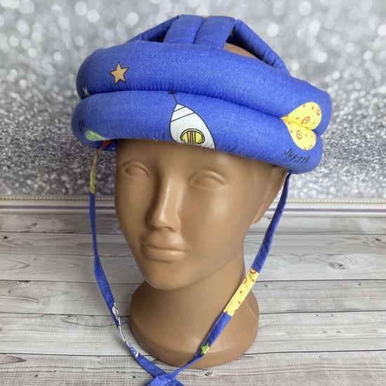 """Детский защитный противоударный мягкий шлем от ударов  """"Планеты"""""""