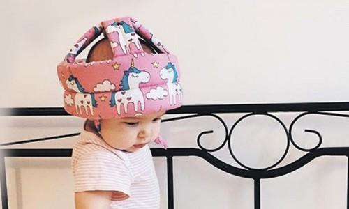 Защитный шлем для деток, которые начинают ползать, ходить, бегать